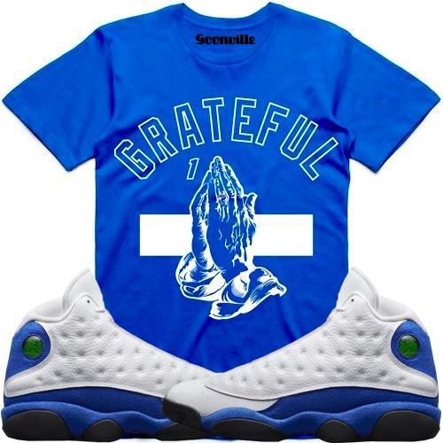 hyper-royal-jordan-13-sneaker-tee-shirt-9