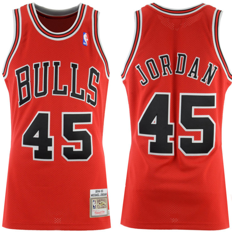 detailed look 2f8fa c7c00 Jordan 10 Im Back Michael Jordan 45 Jersey | SneakerFits.com