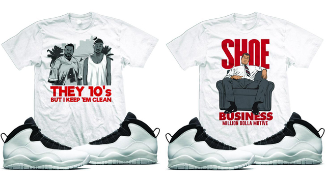 "b4924c8cd88 Million Dolla Motive Sneaker Tees to Match the Air Jordan 10 ""I'm Back"""