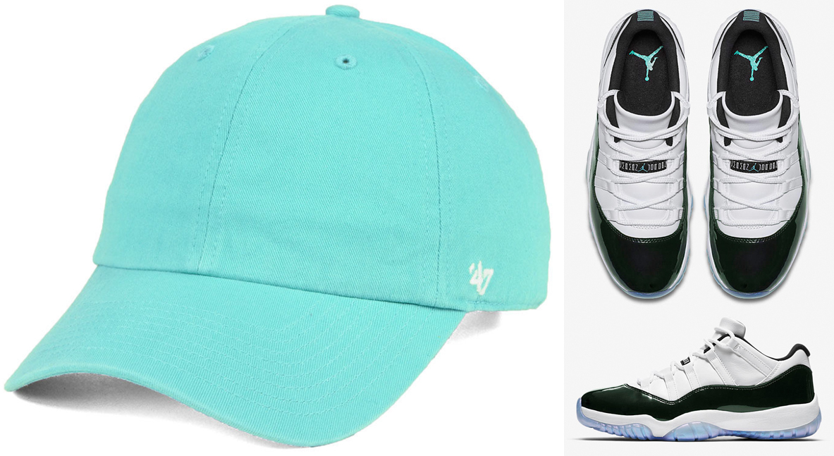 jordan-11-easter-emerald-dad-hat