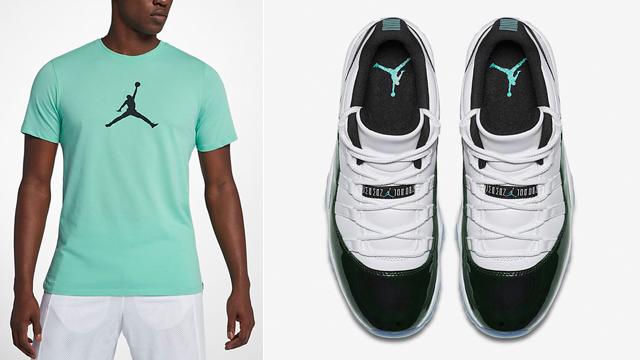 jordan-11-easter-emerald-tee