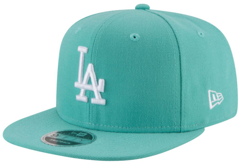 jordan-11-emerald-easter-mlb-snapback-cap-dodgers-1