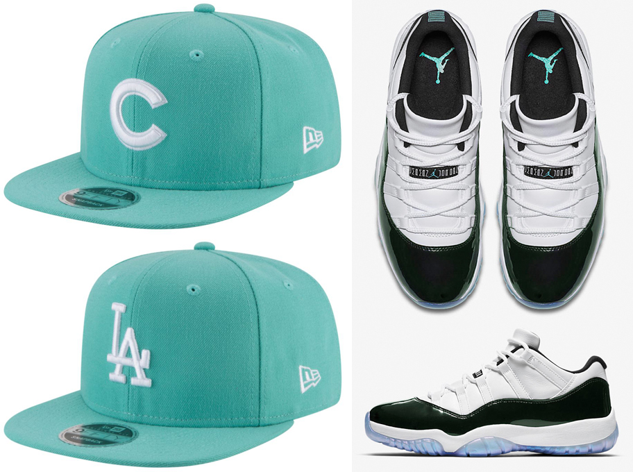 jordan-11-low-easter-mlb-snapback-cap