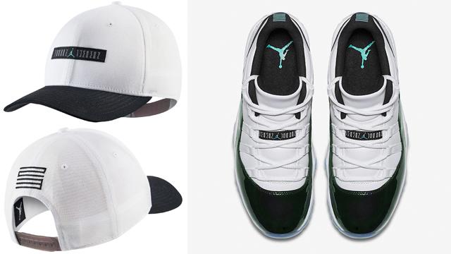 """7b6e5b6e26d Air Jordan 11 Low """"Iridescent"""" x Jordan Retro 11 Classic  99 Snapback Cap"""