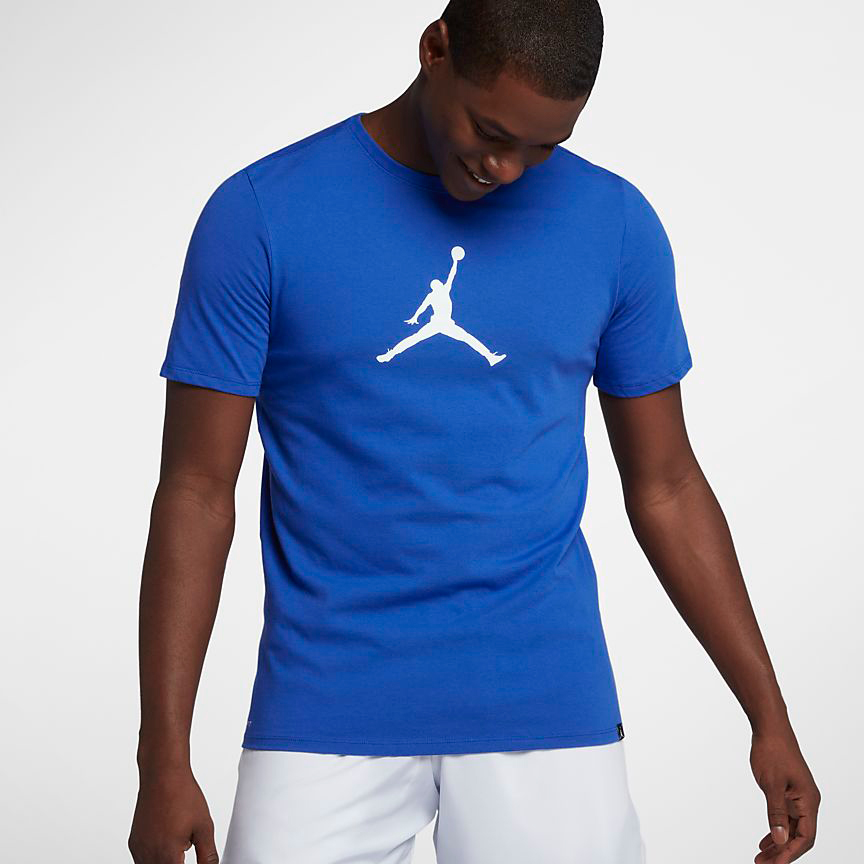 Jordan shirts to match hyper royal 13s for Jordan royal 1 shirt