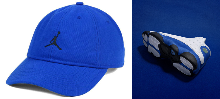 jordan-13-hyper-royal-dad-hat