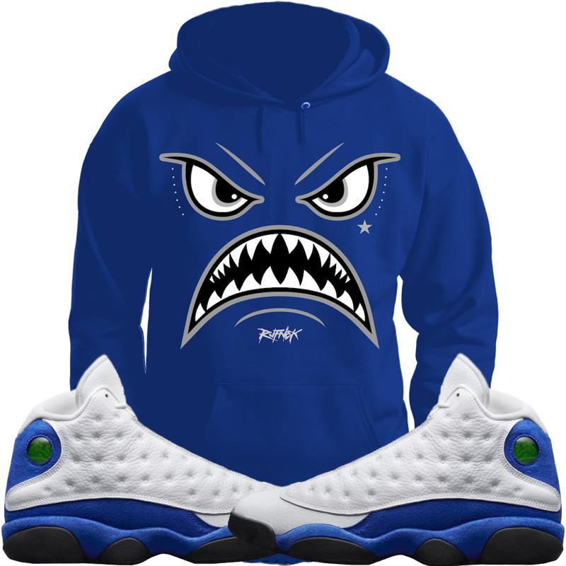 jordan-13-hyper-royal-sneaker-hoodie