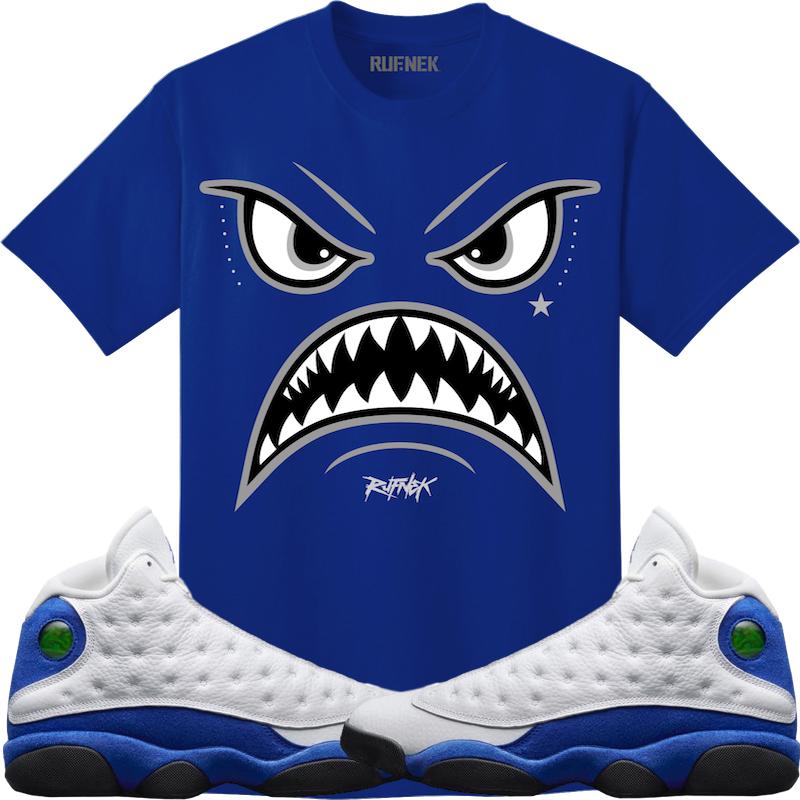 jordan-13-hyper-royal-sneaker-tee-1