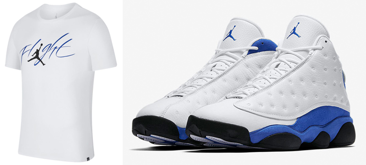 jordan-13-hyper-royal-sneaker-tee