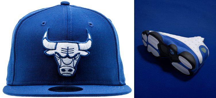 jordan-13-royal-bulls-snapback-hat