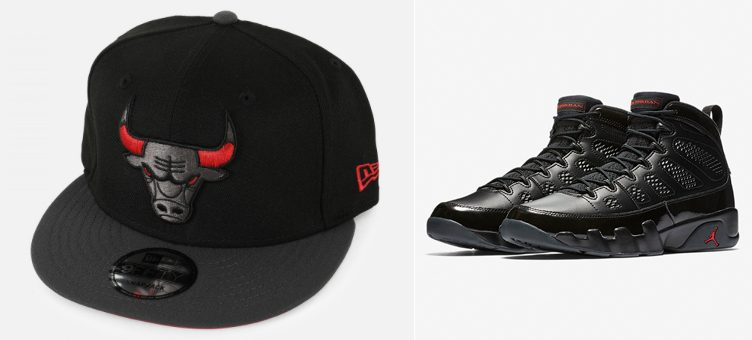 jordan-9-bred-bulls-new-era-hat