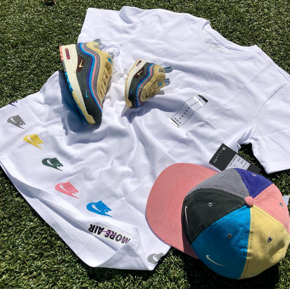 Sean wotherspoon nike air max 1 97 shirts for Matching denim shirt and jeans
