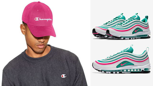 Nike-Air-Max-97-south-beach-champion-pink-hat