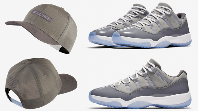air-jordan-11-low-cool-grey-cap