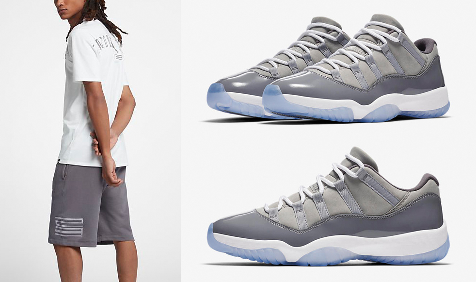 air-jordan-11-low-cool-grey-shorts-match