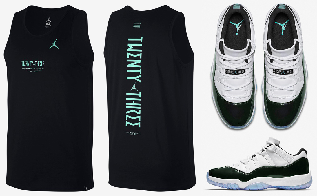 air-jordan-11-low-easter-emerald-tank-top