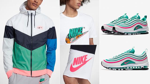Nike Air Max 97 Al Sur De Ropa De Playa Lw61PT3