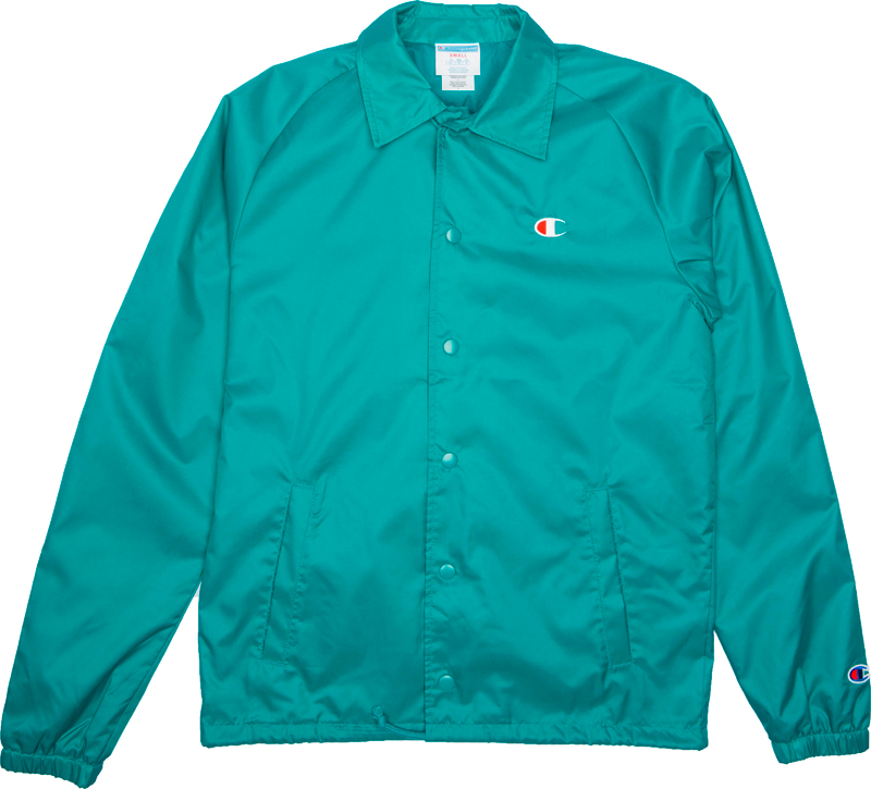 champion-teal-green-coaches-jacket