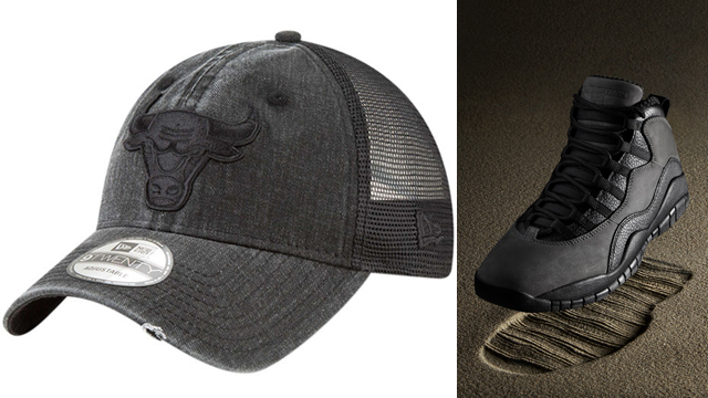 jordan-10-shadow-bulls-hat-match