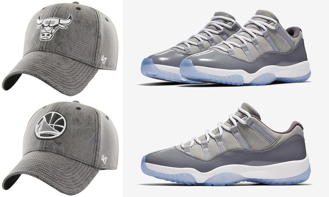 jordan-11-low-cool-grey-nba-hats