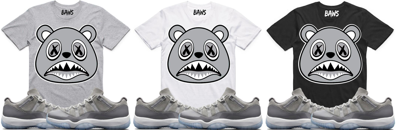 jordan-11-low-cool-grey-sneaker-tees-baws