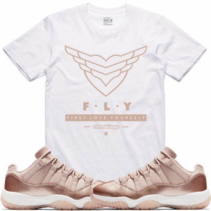 jordan-11-low-rose-gold-sneaker-tee-shirt-1