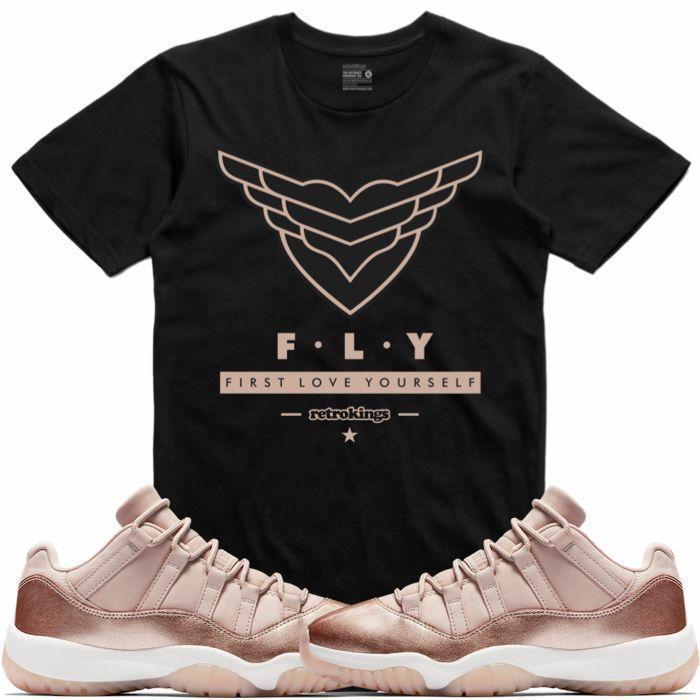 jordan-11-low-rose-gold-sneaker-tee-shirt-2