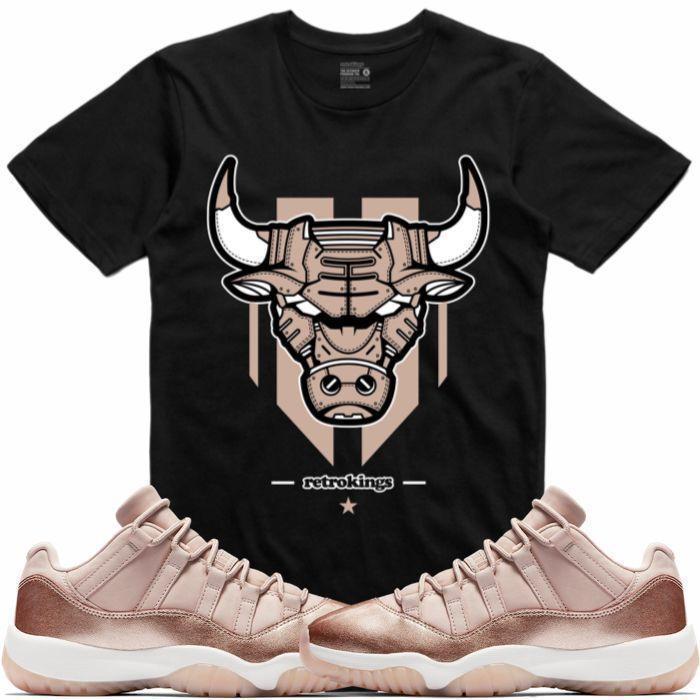 jordan-11-low-rose-gold-sneaker-tee-shirt-3