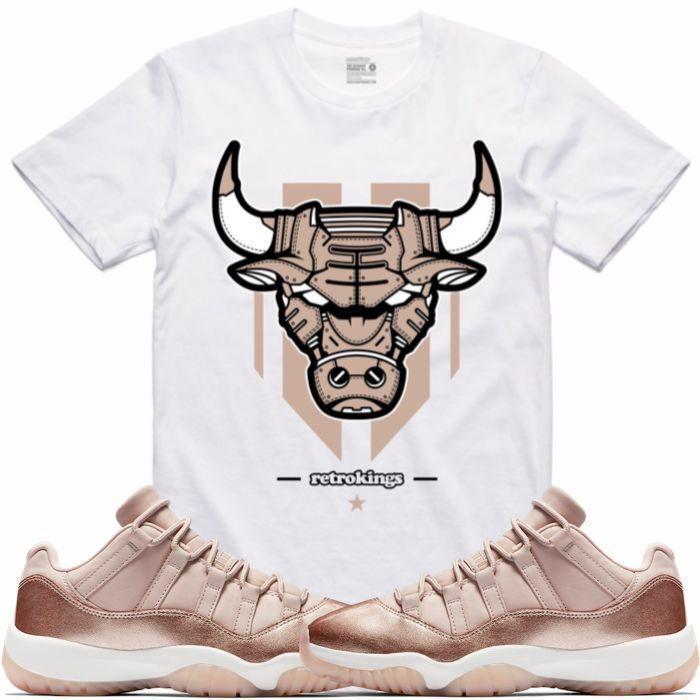 jordan-11-low-rose-gold-sneaker-tee-shirt-4