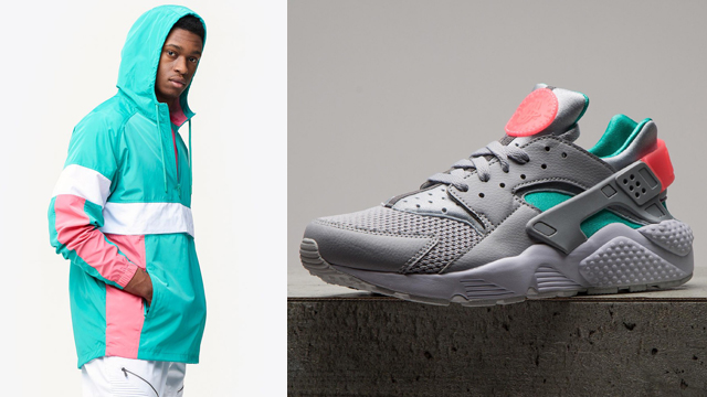 various colors d0619 f2c0d Nike Air Huarache South Beach Jacket Match   SneakerFits.com