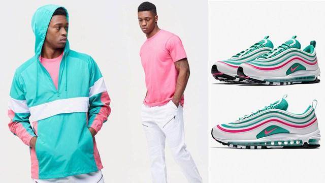 """ccbeaecbc2 CSG """"South Beach"""" Collection to Match the Nike Air Max 97 """"South Beach"""""""