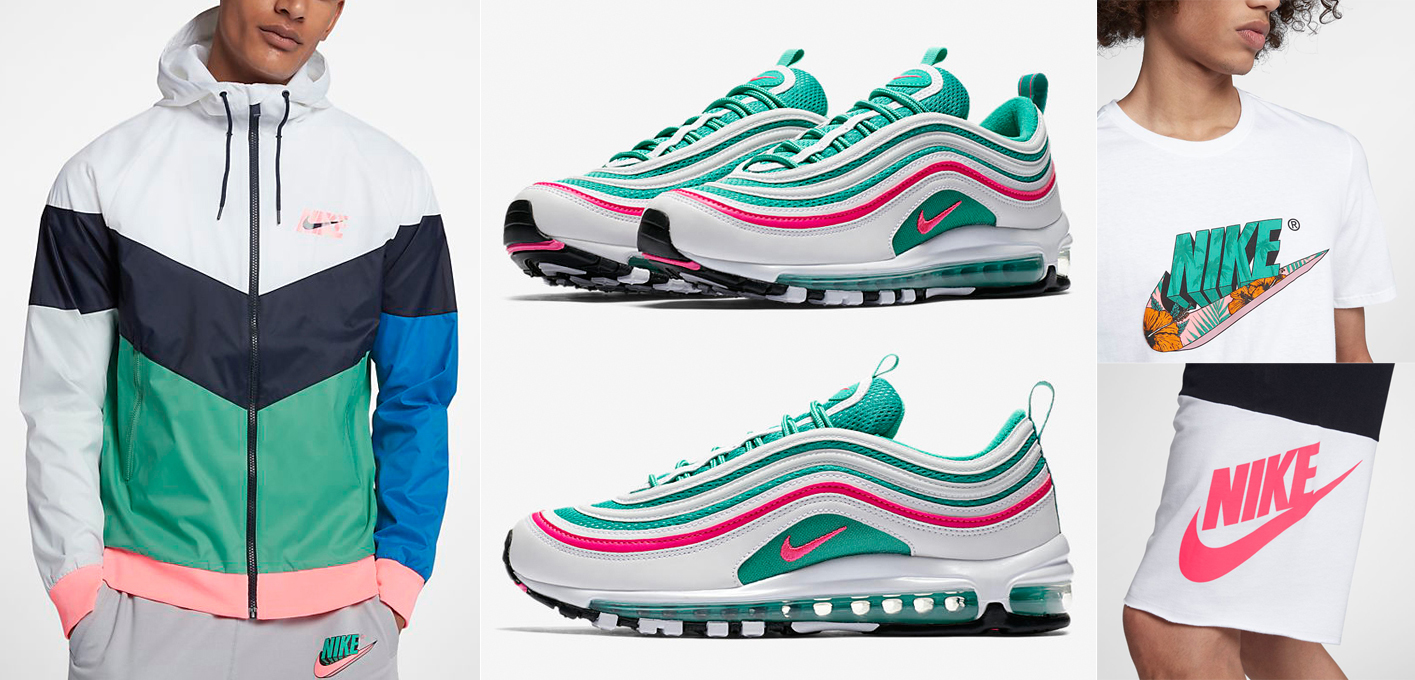 Air Max 97 South Beach Clothing and Hats |