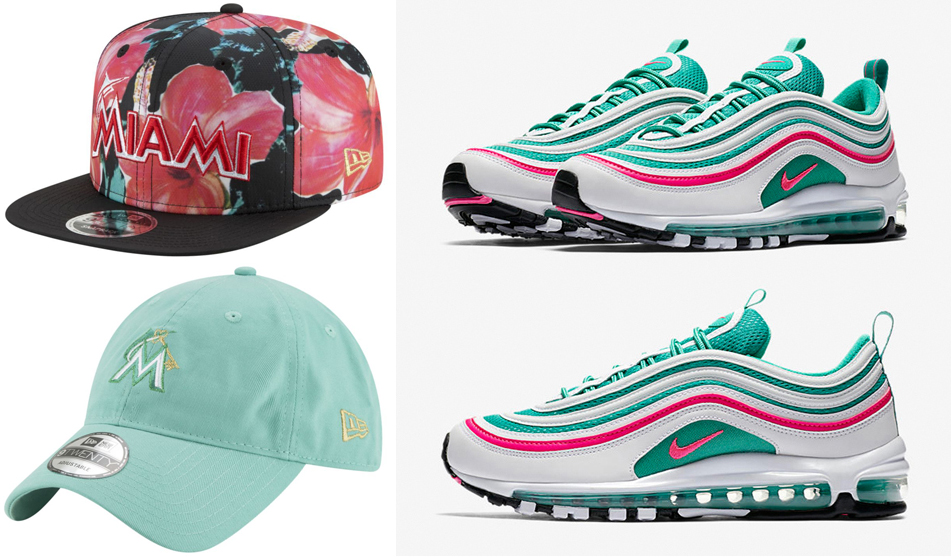nike-air-max-97-south-beach-hats-to-match