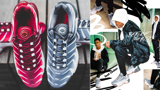 """25bb6cfdd6fe Nike Air Max Plus """"Before and After the Bite"""" Pack"""