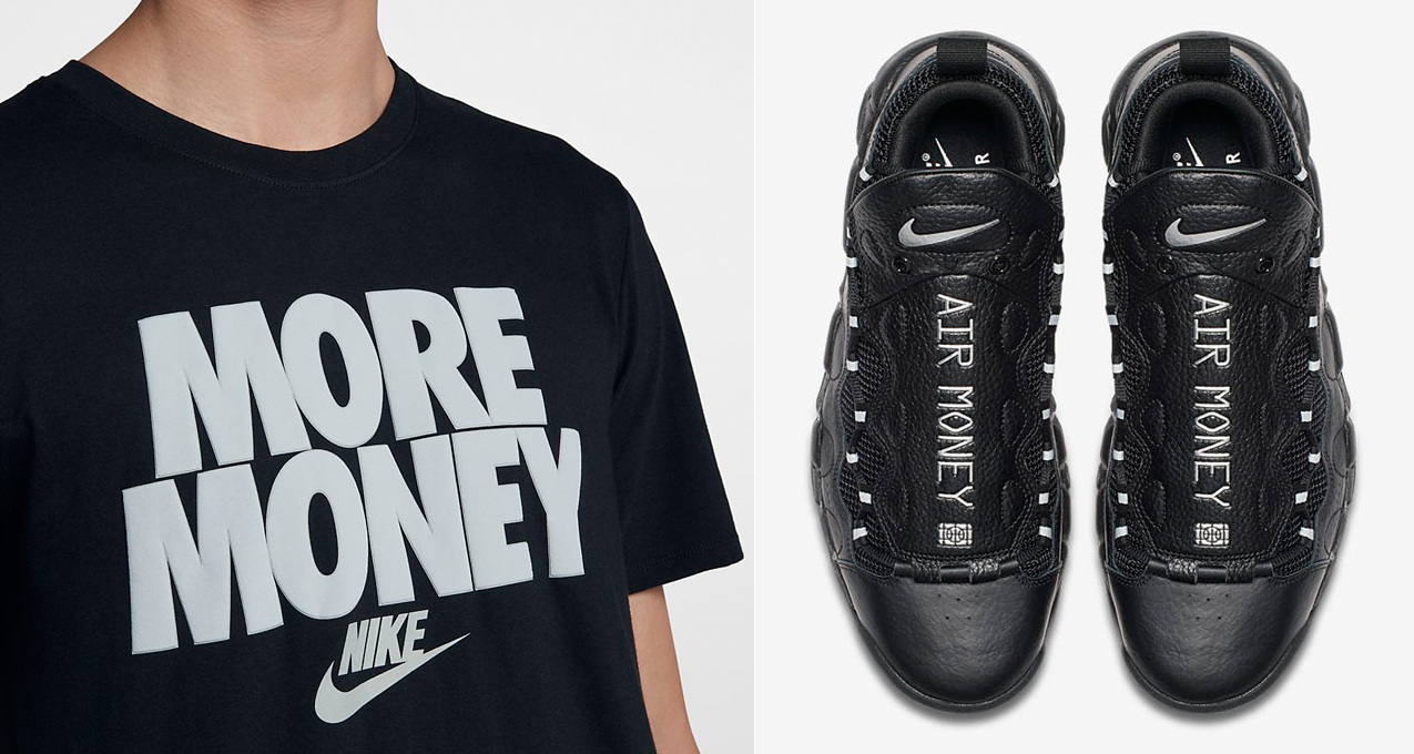 nike-air-more-money-black-silver-sneaker-shirt