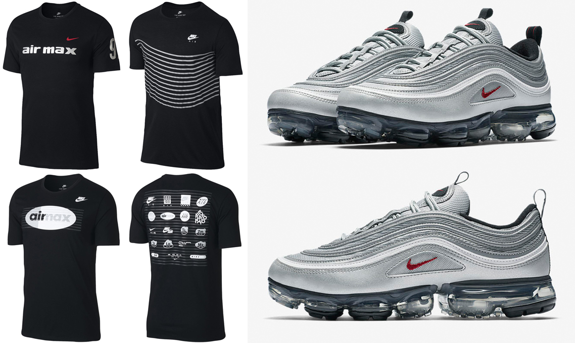 new arrival 54938 ced61 Nike Air VaporMax 97 Silver Bullet Shirts | SneakerFits.com