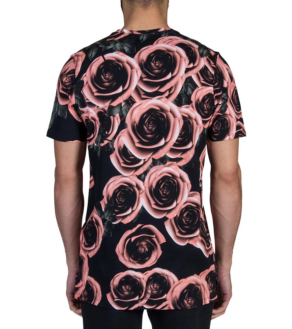 92e5bc95a2e20b Nike Foamposite Rust Pink Rose Tee Shirt