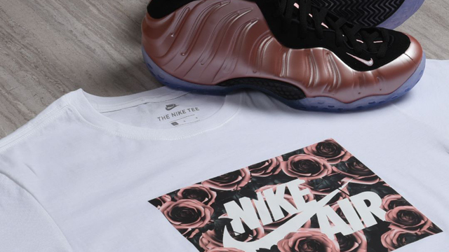 "2a65b48a237124 ... Jordan 11 Low ""Cool Grey"" with these three new sneaker tees in …  nike-foamposite-rust-pink-elemental-rose-clothing"