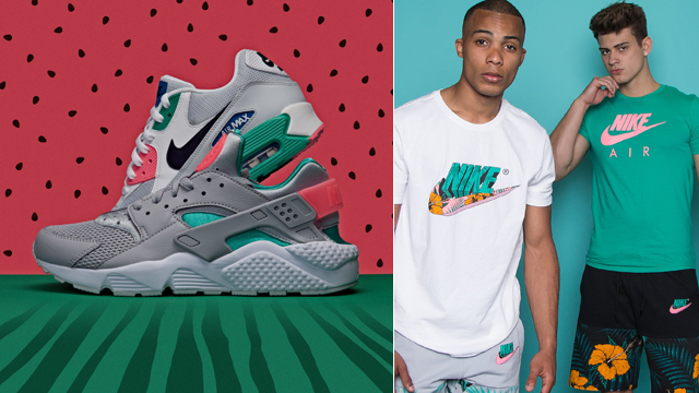nike-watermelon-clothing-sneakers