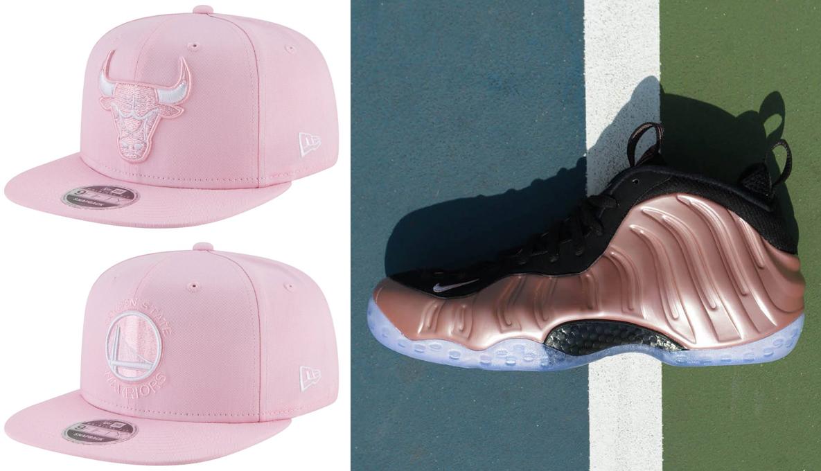 rust-pink-foamposites-snapback-hat-match
