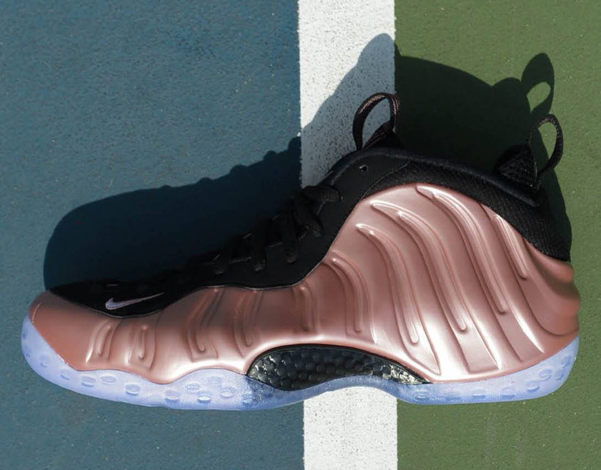 74a58fa81f8b4 Rust Pink Foamposites Hats to Match