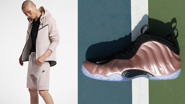 rust-pink-rose-foamposite-nike-short-match
