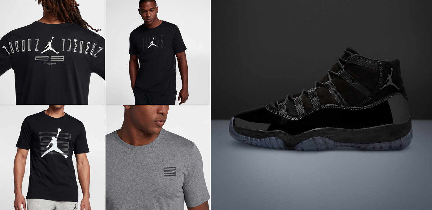 70bed655b7c Air Jordan 11 Cap and Gown Shirts | SneakerFits.com