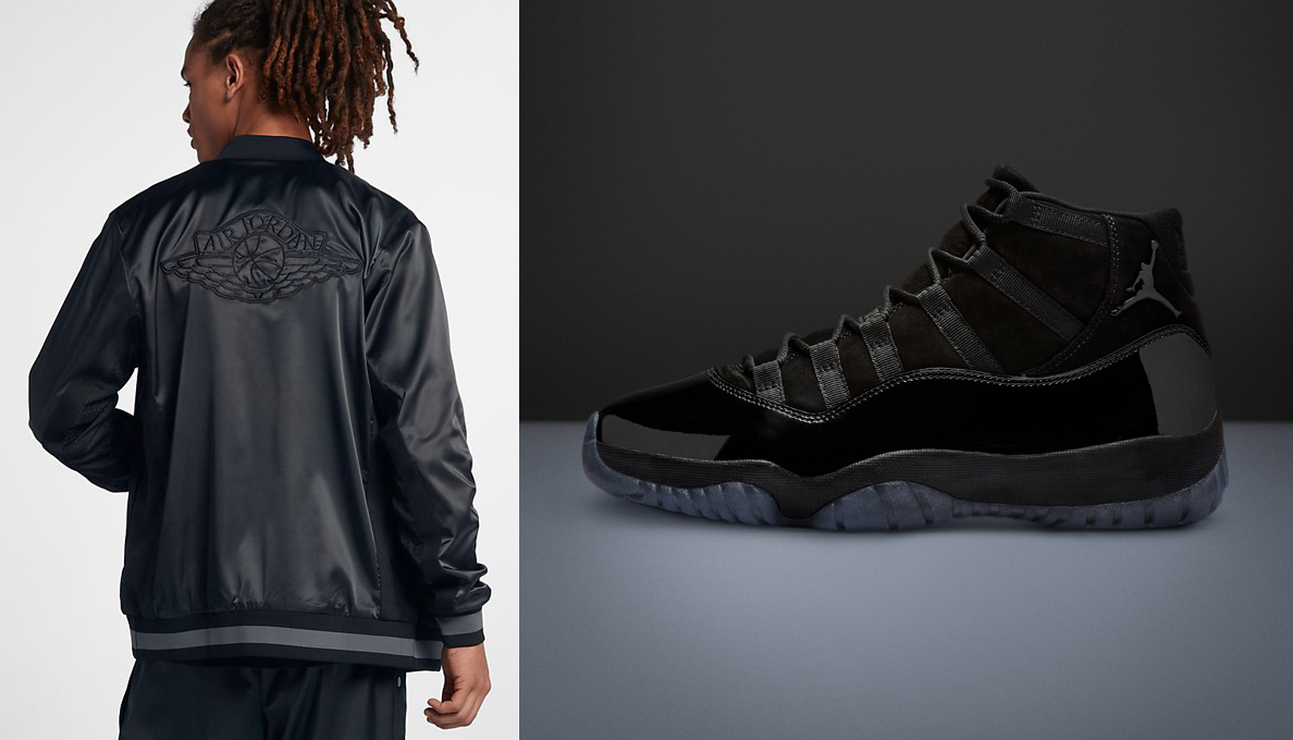 7bfe3e6ce63 Air Jordan 11 Cap and Gown Jacket Match | SneakerFits.com