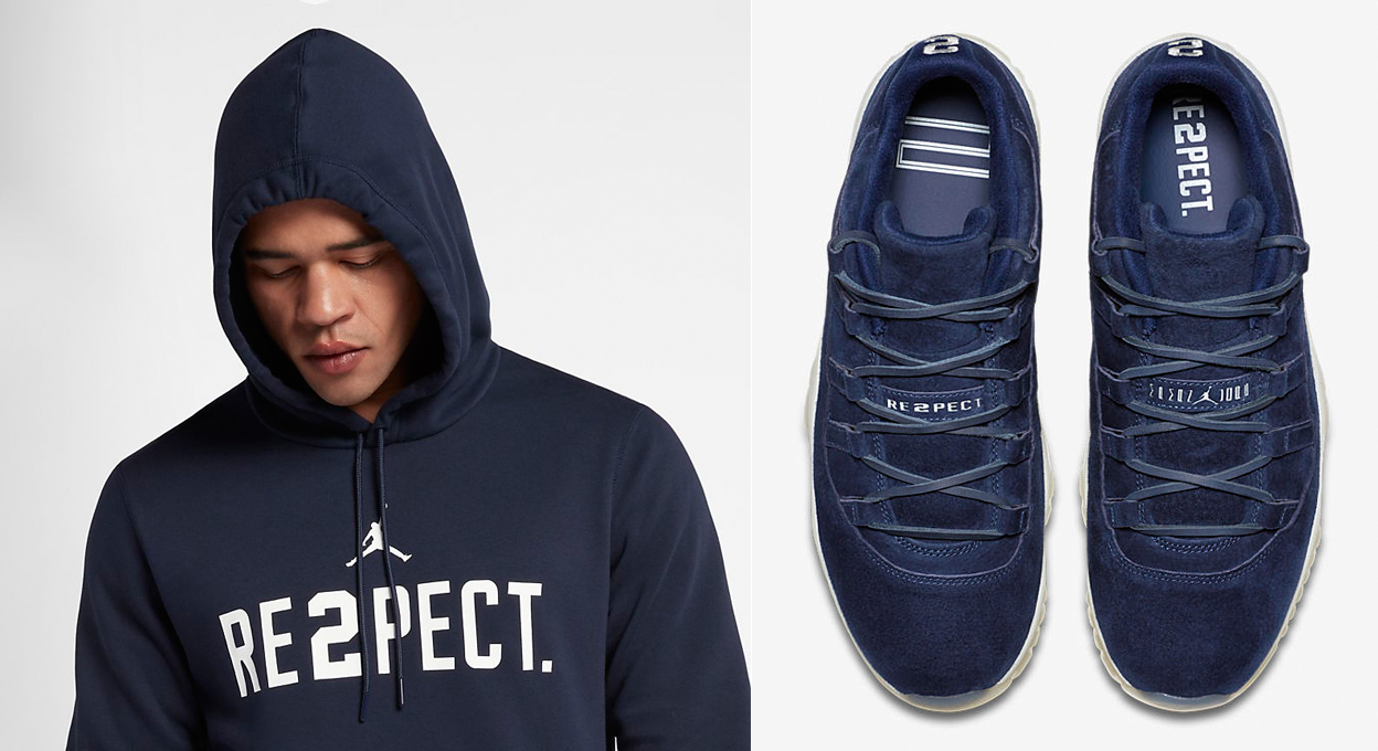 air-jordan-11-low-jeter-re2pect-hoodie-match