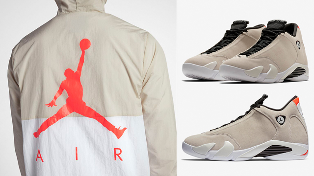 air-jordan-14-desert-sand-jacket-match