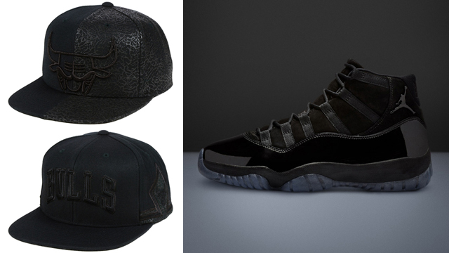 cap-and-gown-jordan-11-bulls-hats-to-match