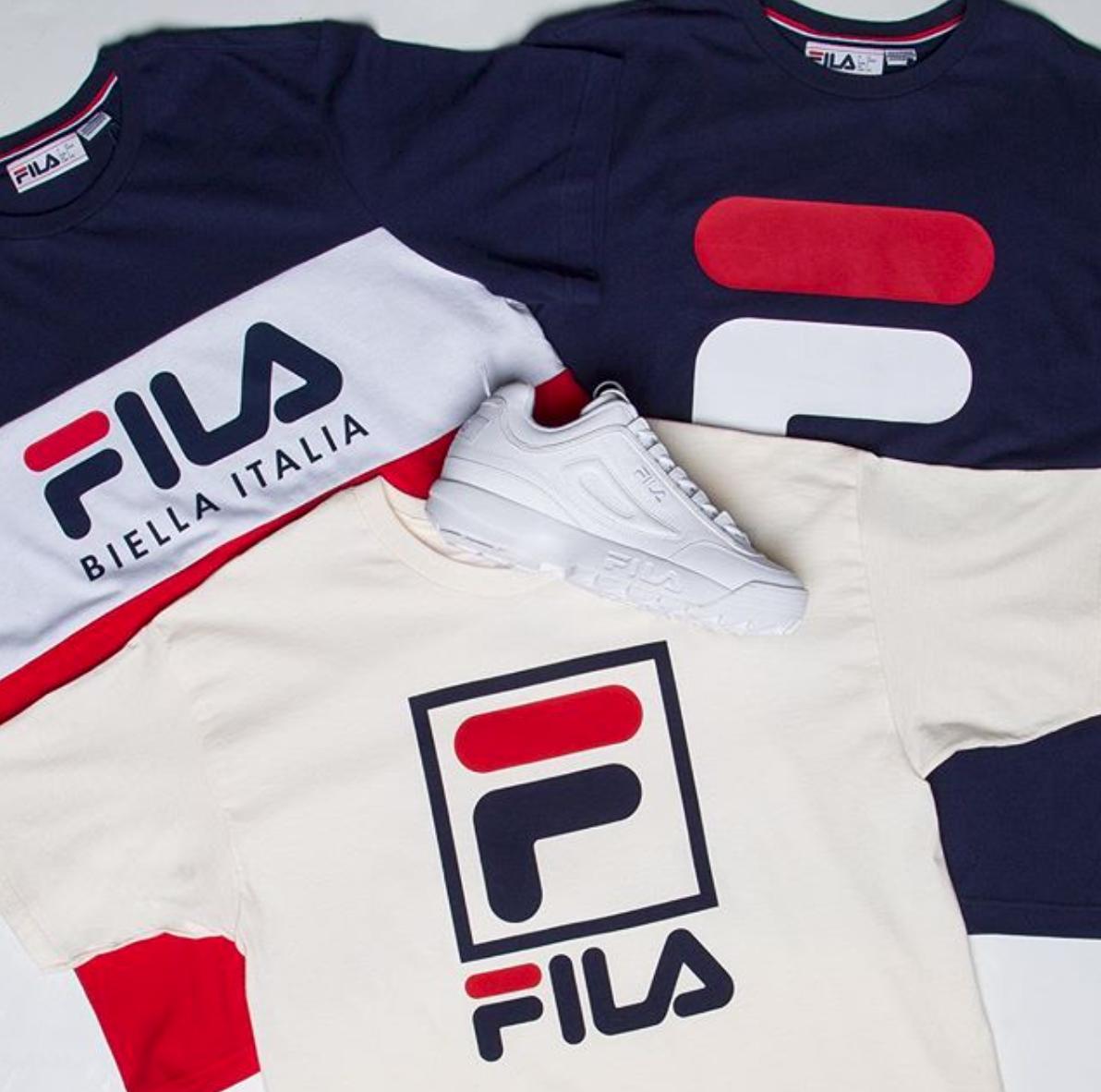 fila-disruptor-and-shirts