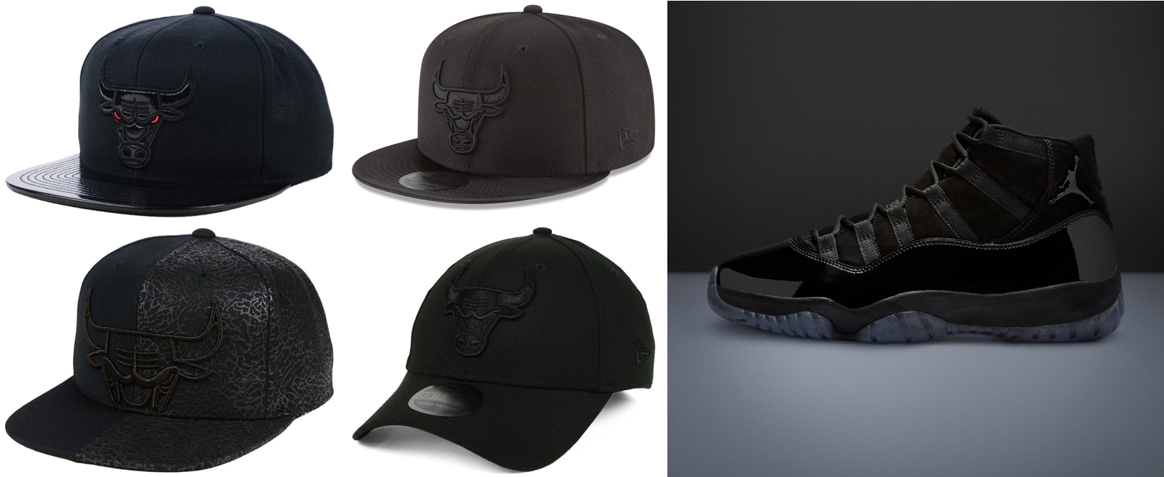 8ef411a92df Bulls Hats to Match the Jordan 11 Cap Gown | SneakerFits.com