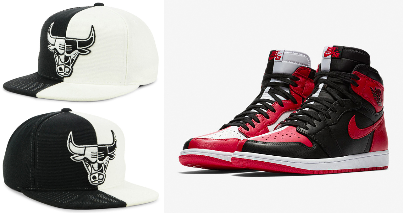 jordan-1-homage-to-home-bulls-hat-match
